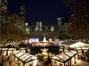The Holiday Shops at Bryant Park
