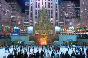 The Ice Rink at the Rockefeller Center